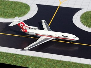 GeminiJets 1:400 Alaska Airlines 727-100