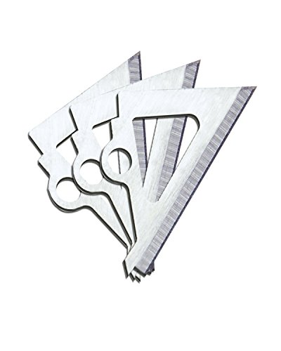 Muzzy Broadheads New Replacement Blades for Trocar Series 3 Blade ()