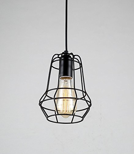 Small Iron Pendant Light - 8