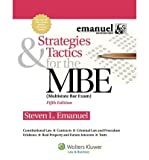 img - for [(Strategies & Tactics for the MBE, 5th Edition )] [Author: Steven Emanuel] [Oct-2012] book / textbook / text book