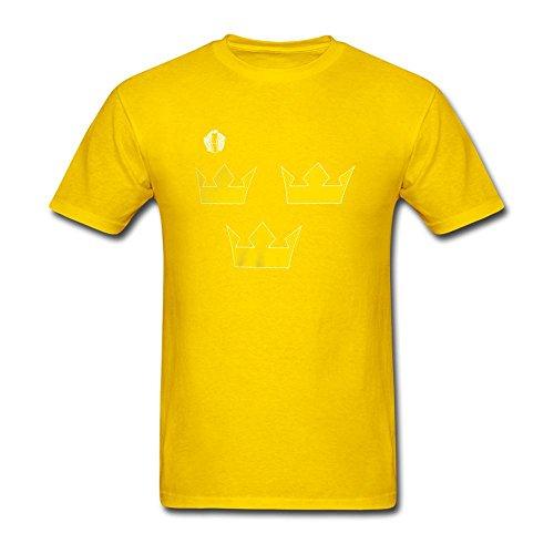 Men's Sweden Hockey 2016 World Cup of Hockey Primary Logo T Shirts