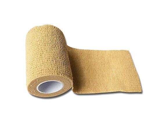 Auch als Bandage geeignet Selbsthaftend ohne Kleber LisaCare Pflasterverband Die schnelle Hilfe bei kleinen Verletzungen F/ür Erwachsene /& Kinder