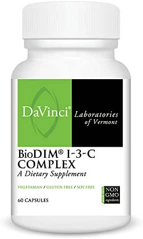 DaVinci Laboratories -Biodim I-3-c Complex With Calcium D-glucarate, 60 Count