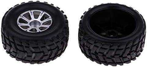 Sharplace ゴム製 ホイール タイヤ WLtoys A949 A959 A979 RCカー用 RCカースペアパーツ 2個