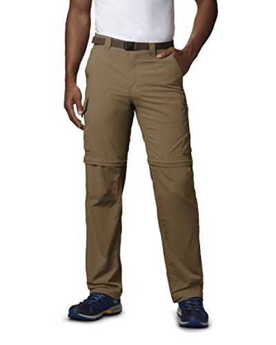 Columbia Men's Silver Ridge Convertible Pants, Delta, 36x28
