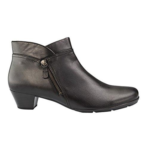 GABOR Gabor Womens Ankle Boot Emilia 55.634-27 Black 10