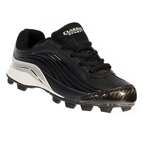 Classic Sport Youth Baseball Cleats, Molded (3.5Y) by Classic