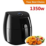 Air Fryer XL 3.7 QT,Electric Air Fryer Non-stick Multi-Cooker Oilless Cooker,1350W (3.5L Air Fryer) Review