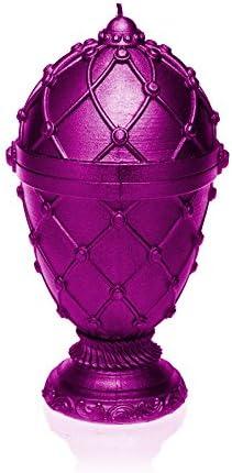 Candellana Candles Candellana-Large Faberge Candle-Pink Metallic