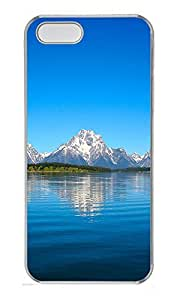 iPhone 5 5S Case Landscapes Grand Tetons PC Custom iPhone 5 5S Case Cover Transparent