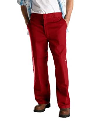 Dickies 85283ER Double Knee Work Pant (English Red;28W x 30L)