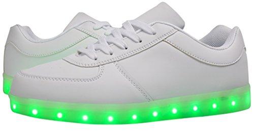 Eslla Kid/Adult Light Up Shoes LED Color Flashing Light S...