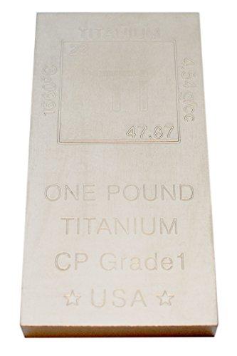 Titanium Bar Paperweight Chemistry Metallum product image