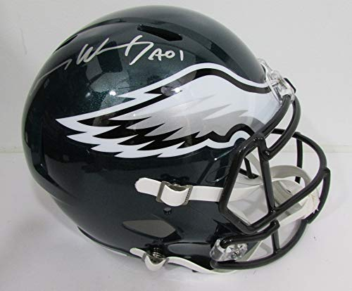 Carson Wentz Philadelphia Eagles Signed Autograph Full Size Helmet JSA Witnessed Certified
