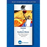 2007 NCAA(r) Division I Men's Basketball Sweet 16 - Kansas vs. Southern Illinois