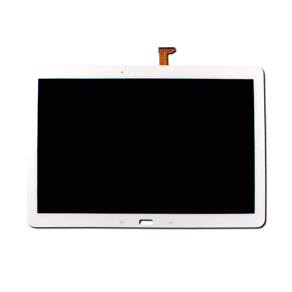Group Vertical Replacement Screen LCD Digitizer Assembly Compatible with Samsung Galaxy Tab Pro 12.2 (SM-T900, SM-T905) (White) (GV+ Performance)