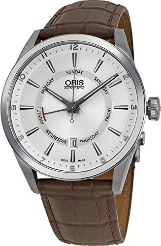 Oris Culture Analog Silver Dial Men's Watch – 01 755 7691 4051-07 5 21 80FC