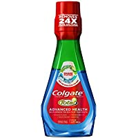 3 Pack Colgate Total Advanced Health Mouthwash, 800 mL (Fresh Mint)