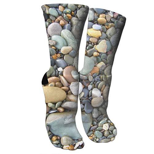 Elite Cotton Pebbles - Crazy Socks Pebble Stone Pattern 3D DIY Outdoors Pleasure Boys And Girls Socks