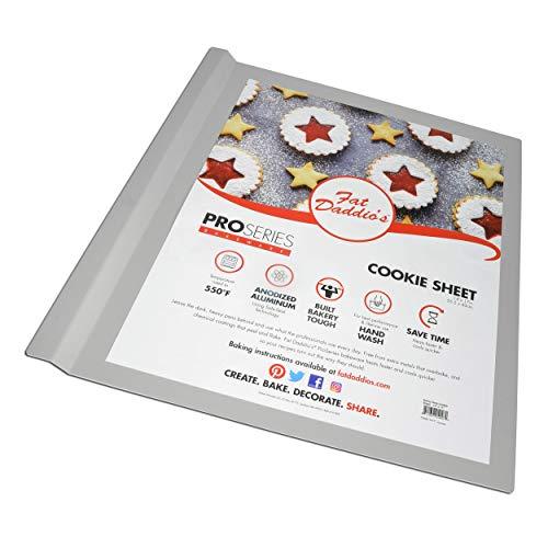 Fat Daddio's Anodized Aluminium Cookie Sheet, 14 x 17 Inch