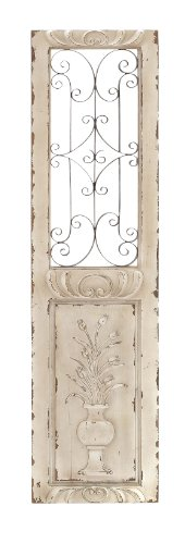 Deco 79 Wood Metal Wall Panel, 62 by 16-Inch by Deco 79