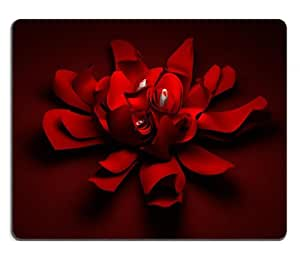 Red Paper Blossoming Red Rose Candles Mouse Pads Customized Made to Order Support Ready 9 7/8 Inch (250mm) X 7 7/8 Inch (200mm) X 1/16 Inch (2mm) High Quality Eco Friendly Cloth with Neoprene Rubber Liil Mouse Pad Desktop Mousepad Laptop Mousepads Comfortable Computer Mouse Mat Cute Gaming Mouse_pad