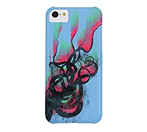 aurora in the water iPhone 5c Aero Barely There Phone Case - Design By Humans