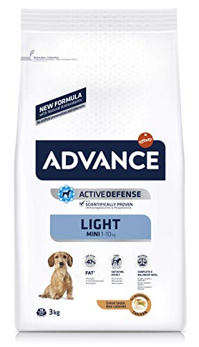 🥇 Advance Light Pienso para Perros Mini – 3000 gr