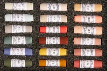 Unison Portrait 18 Pastel Set [Toy] by Unison