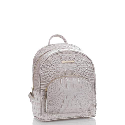 NEW AUTHENTIC BRAHMIN DARTHMOUTH EMBOSSED CROC LEATHER BACK DAY PACK BACKPACK (Sheashell Melbourne)