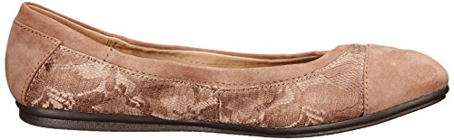 Ballet Gessica Women's Taupe Multi Dark Flat Easy Fabric Spirit EqCtwt