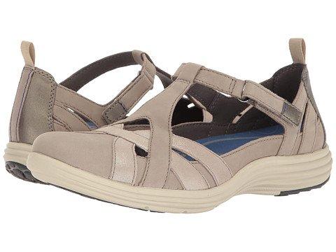 (アラヴォン)Aravon レディースサンダル?靴 Beaumont Fisherman Stone 7.5 24.5cm N (AA) [並行輸入品]