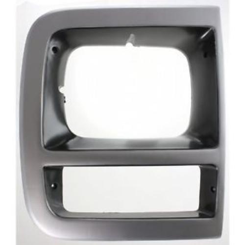 CPP GM2513181 Right Primed Headlight Door for Chevy Box Truck, G20, P30, Van ()