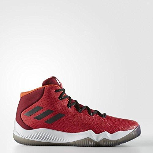 adidas Crazy Hustle, Scarpe da Basket Uomo, Rosso (Rojo/(Escarl/