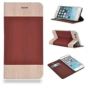 GX Cubierta Posterior - Color Mixto/Diseño Especial - para iPhone 6 Cuero PU ) , Light Pink