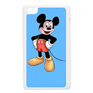 iPod Touch 4 Case White Mickey Mouse 011 SYj_818184