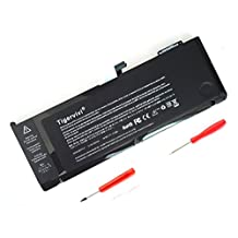 Tigervivi Laptop Battery for Apple A1382 A1286 [only for Core i7 Early 2011 Late 2011 Mid 2012] Unibody MacBook Pro 15'' inch i7 Notebook, fits 661-5476, 661-5211, (Li-Polymer 10.95V 6700mAh/77.5Wh)