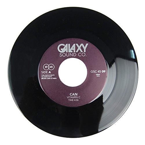 "Blackcash & Theo: Galaxy Vol.9 (Can Vitamin C, Silver Apples) Vinyl 7"""