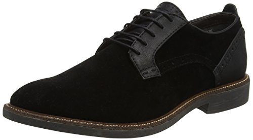 Burton Menswear London Maxwell, Stivali Uomo Black (Black)
