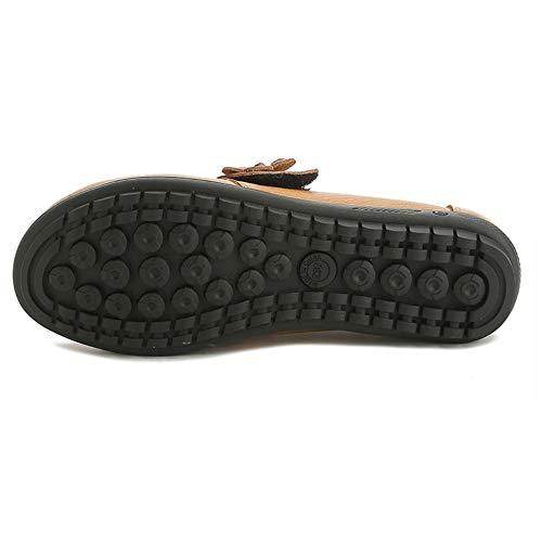 Velcro Traspiranti Pigri Shoes Scarpe Red Plnxdm Flats Ufficio Da Casual Mocassini Ballo Driving qxTzwztSp0