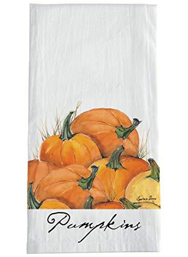 (Sullivans Cotton Flour Sack Hand Towel with Pumpkin Motif 28