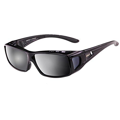 sol negro de Gafas hombre XL para Duco negro vwqz6xR