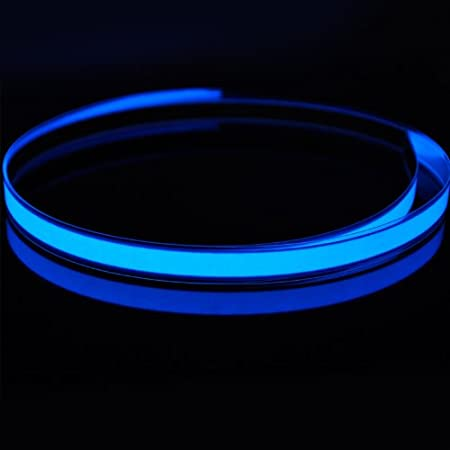amicc/® 3/ft 1/m Neon Glowing stroboskopischer Electroluminescent Robbin EL Tape G/ürtel