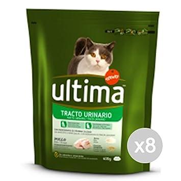 Ultima Juego 8 Gato 207 Croccantini Urinary Tract 400 g Comida para Gatos: Amazon.es: Productos para mascotas