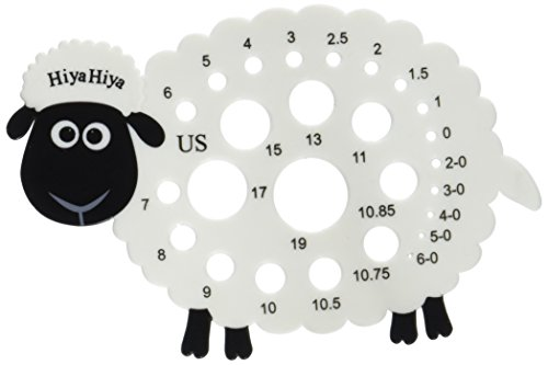 - HiyaHiya Knitting Needle Gauge-Sheep