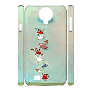 Custom SamSung Galaxy S4 I9500 Case, Zyoux DIY Cheap 3D SamSung Galaxy S4 I9500 Cell Phone Case -Parachute