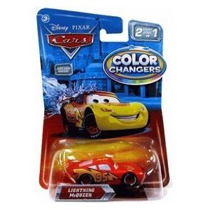 disney pixar cars movie 155 die cast cars color changers lightning mcqueen - Cars The Movie Lightning Mcqueen