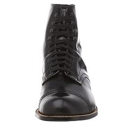 Stacy Adams Men\'s Madison Cap Toe Boot,Black,13 EE
