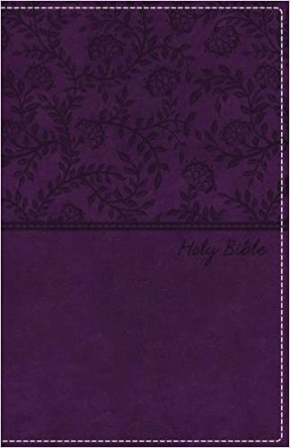 NKJV, Deluxe Gift Bible, Leathersoft, Purple, Red Letter Edition