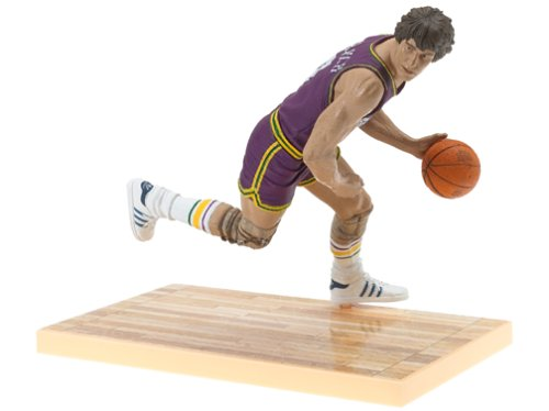 McFarlane Toys NBA Sports Picks Legends Series 1 Action Figure Pete Maravich (New Orleans Jazz) (Picks Mcfarlane Sports Nba Toys)